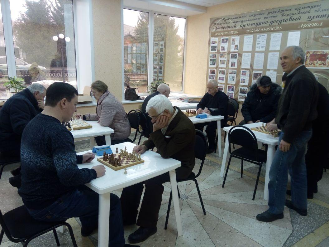 Соревнования по шахматам посвященные году Памяти и Славы
