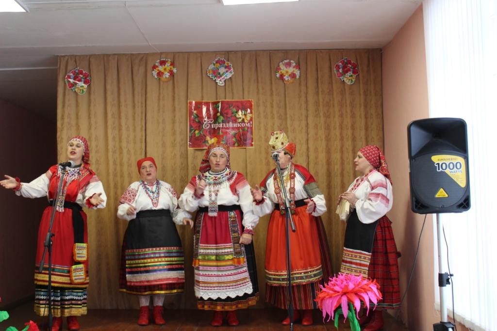 Отчетный концерт народного фольклорного ансамбля «Завалинка»
