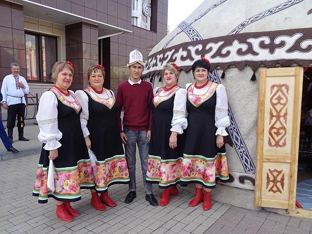 Репьевцы на областном фестивале «Воронеж многонациональный».
