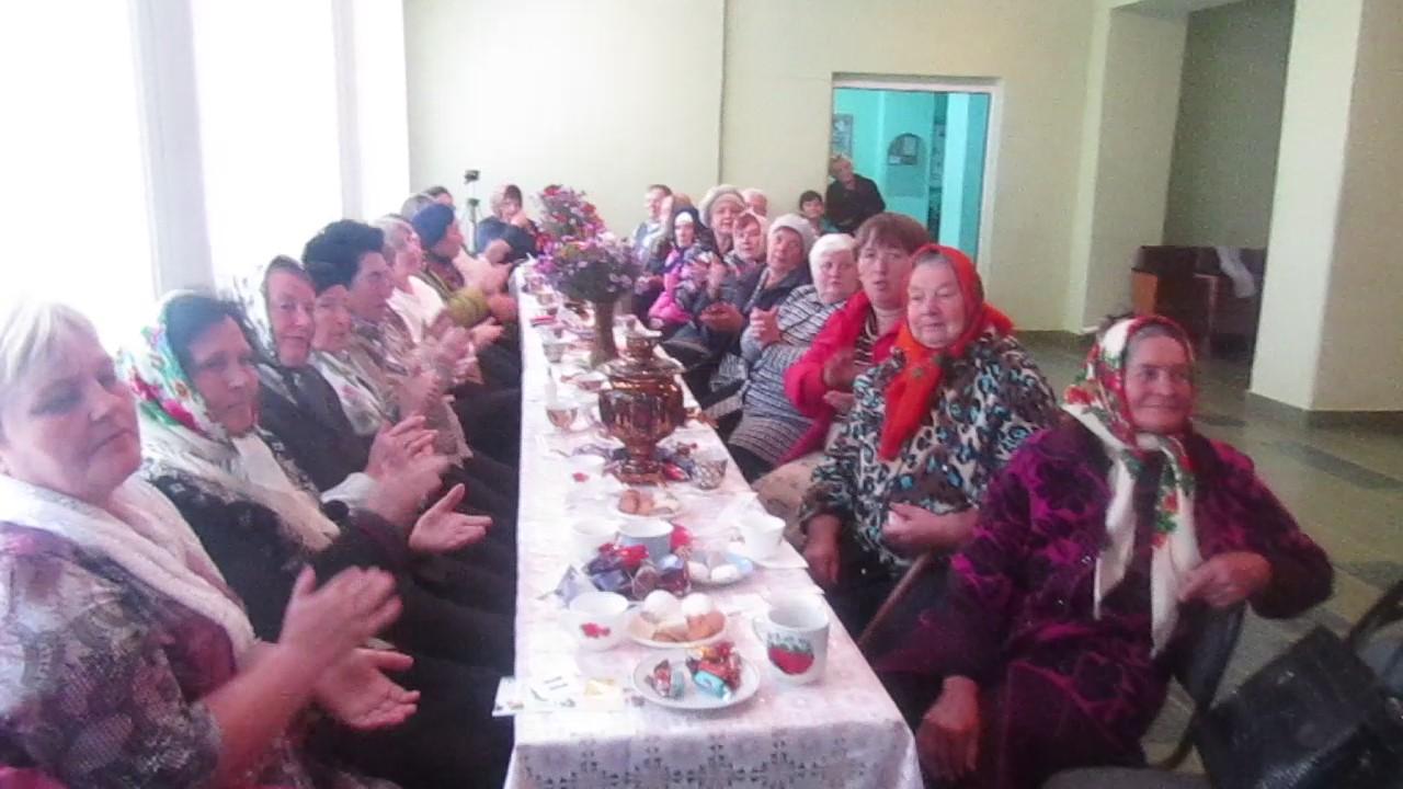 О проведении Дня пожилых людей в СДК
