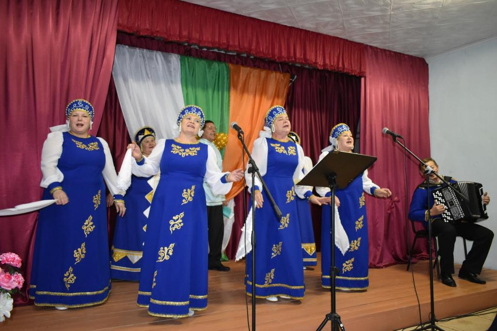 Отчетный концерт в Бутырском СДК.