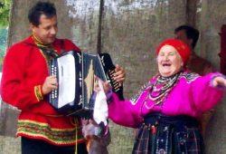 Репьевцы на творческом вечере в Воробьевском районе.