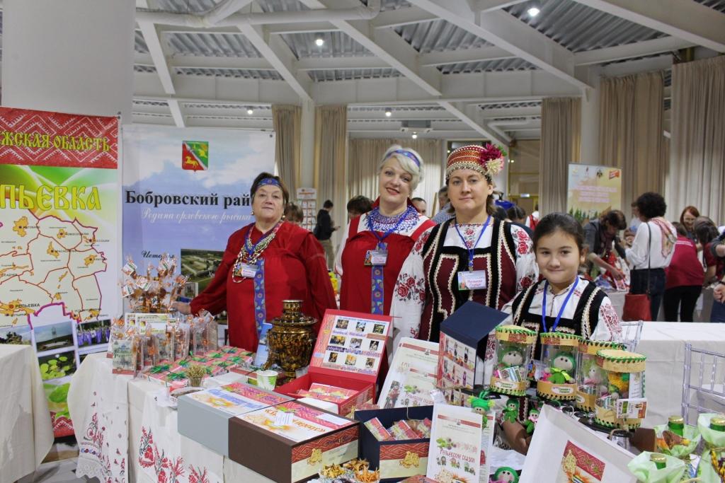 Репьёвская делегация на 5-ом Всероссийском финале конкурса «Туристический сувенир»