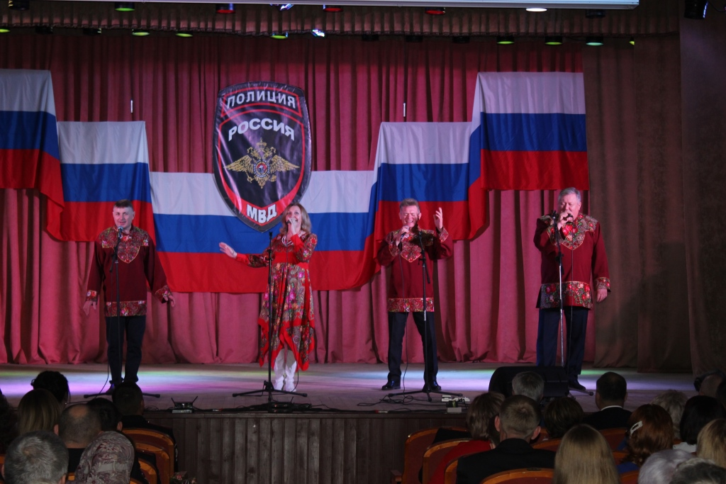 В Репьевке отметили День сотрудника органов внутренних дел Российской Федерации!